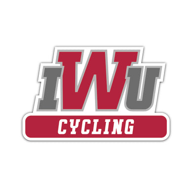 IWU Cycling Decal
