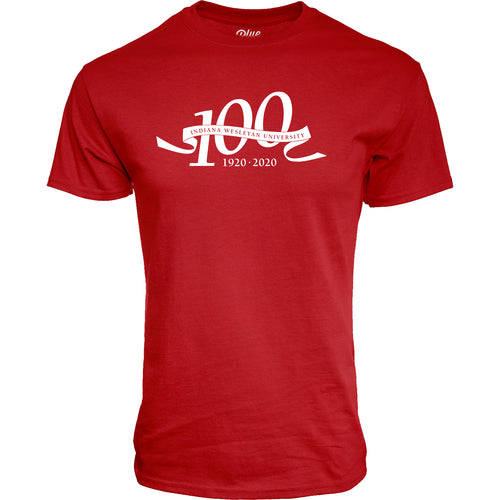 Blue 84 Men's Centennial Tamarac Ringspun Tee, Red