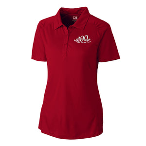 Cutter & Buck Women's Centennial Northgate Polo, Cardinal