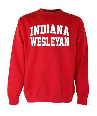 OnMission Crew Sweatshirt, Red