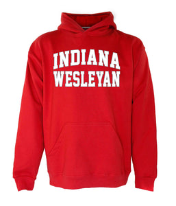 OnMission Hooded Sweatshirt, Red