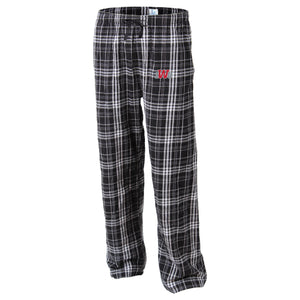 Boxercraft Flannel Pant, Black/Grey