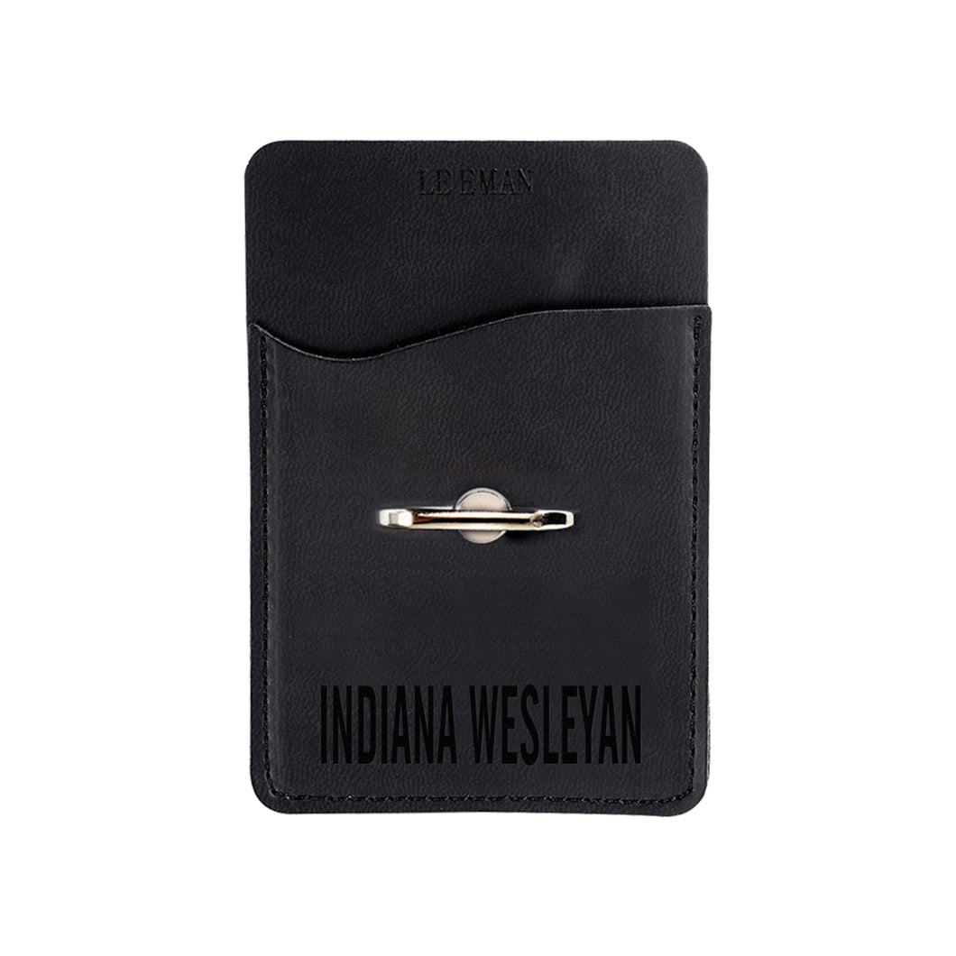 Spirit, Mobile Tuscany Card Holder & Phone Stand, Black