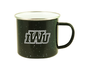 RFSJ Speckled Fireside Camper Mug, Black
