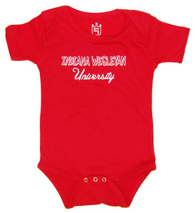Little King Infant Onesie, Red