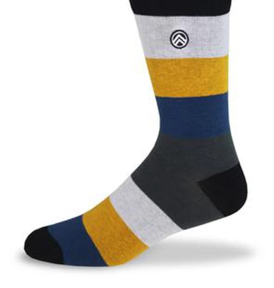 Sky Footwear Socks, Sunshine Striped