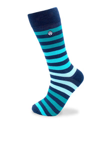 Sky Footwear Socks, Teal Blue