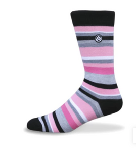 Sky Footwear Socks, Think Pink