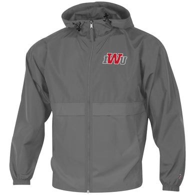 Champion Men's Full Zip Lightweight Jacket, Graphite