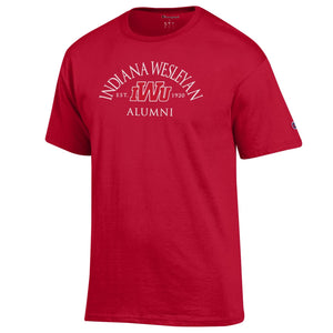 Champion Men's Alumni Tee, Red