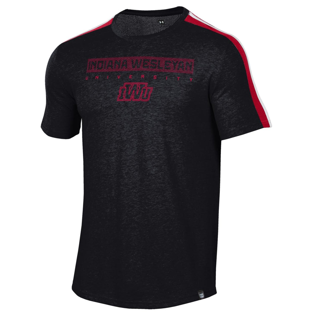 Under Armour Men's Training Camp Short Sleeve Tee, Black