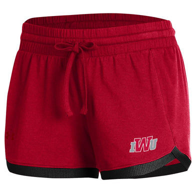 Under Armour Women's Ascend Short, Red/Black