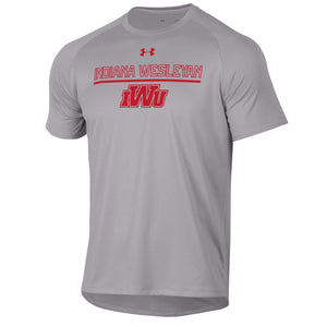 Under Armour Men's Tech Short Sleeve Tee, Grey Heather