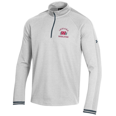 Under Armour Men's Skybox 1/4 Zip, Onyx/White/Stealth