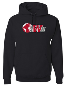 IWU N&G Hooded Sweatshirt, Black