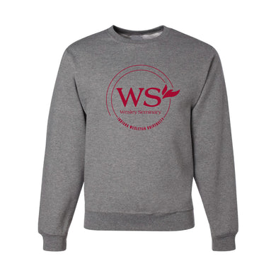 JERZEES Wesley Seminary Crew Sweatshirt, Oxford