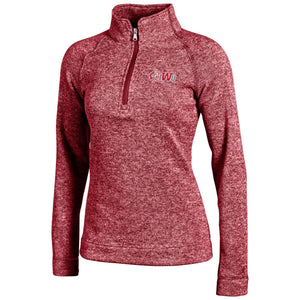 Champion Women's Artic Fleece 1/4 Zip, Cardinal