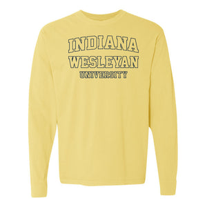 Spring 2021 Long Sleeve Tee, Butter