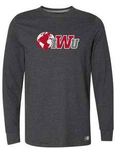 IWU N&G Long Sleeve Tee, Black Heather