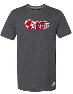 IWU N&G Short Sleeve Tee, Black Heather