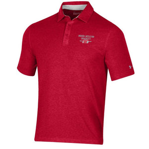 Under Armour Charged Cotton Polo, Red