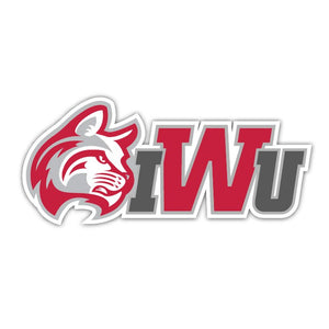 IWU Wildcat Decal - D2
