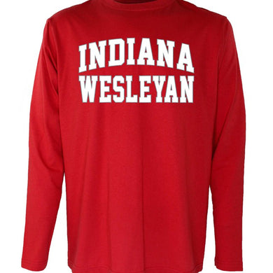 OnMission Long Sleeve Tee, Red