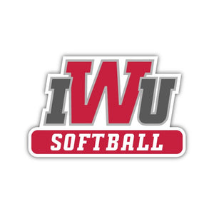 IWU Softball Decal - M11