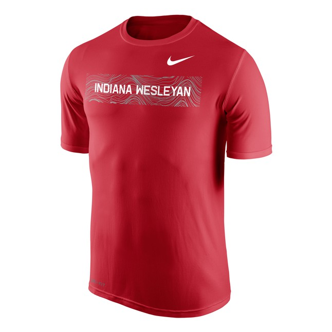 Nike Men's Legend SS Tee, Red