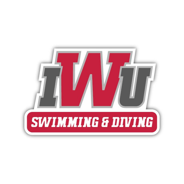IWU Swimming & Diving Decal - M28