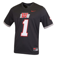 Load image into Gallery viewer, Nike Football Jersey, Black