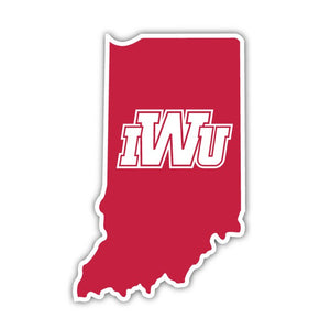 IWU State Decal - J Home