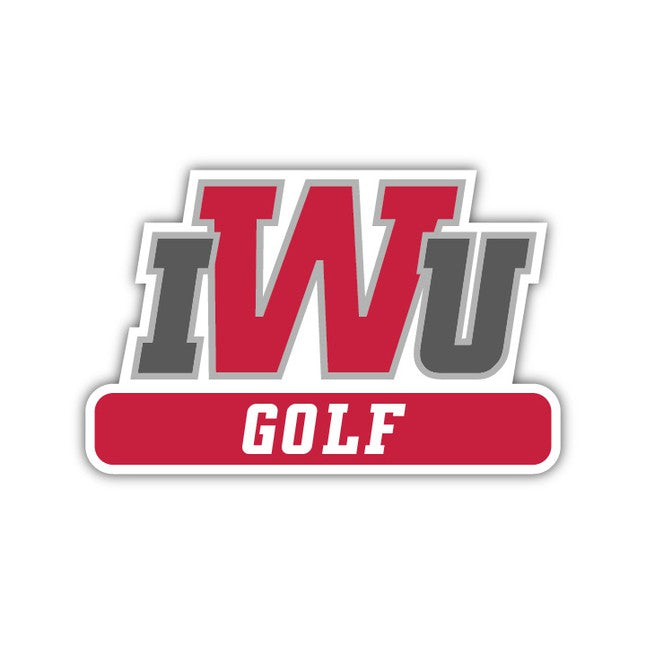 IWU Golf Decal - M13