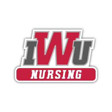 IWU Nursing Decal - M30