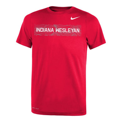 Nike Youth Legend SS Tee, Red