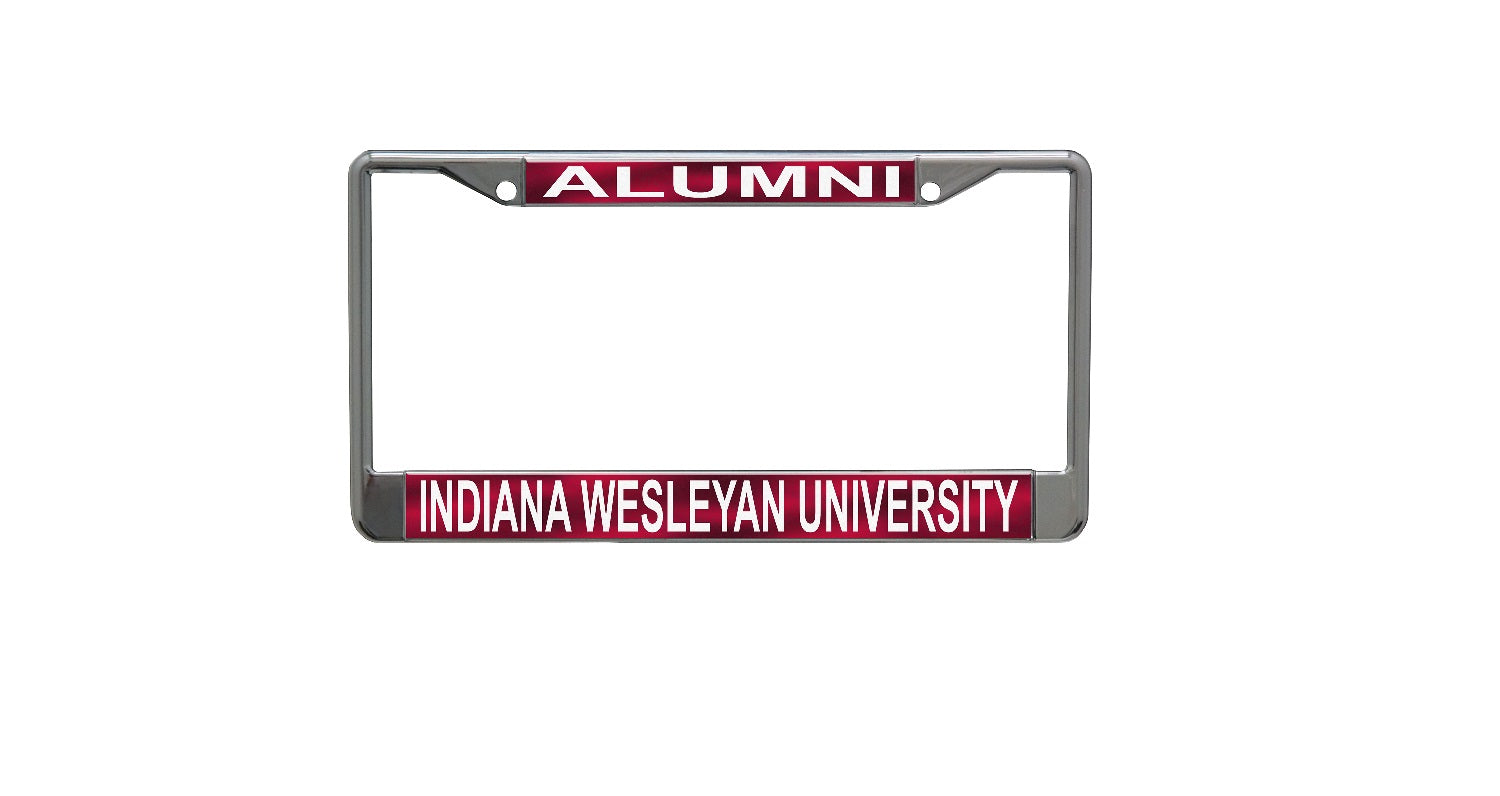 Stockdale License Plate Frame Iwu Campus Store