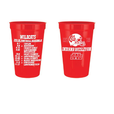 RFSJ 22 oz Stadium Cup, Red