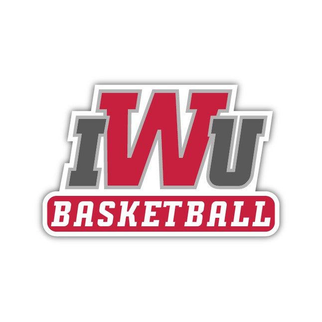 IWU Basketball Decal - M8