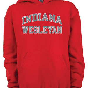 Youth Hoodie Sweatshirt - Red