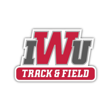 IWU Track & Field Decal - M15
