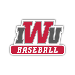 IWU Baseball Decal - M7