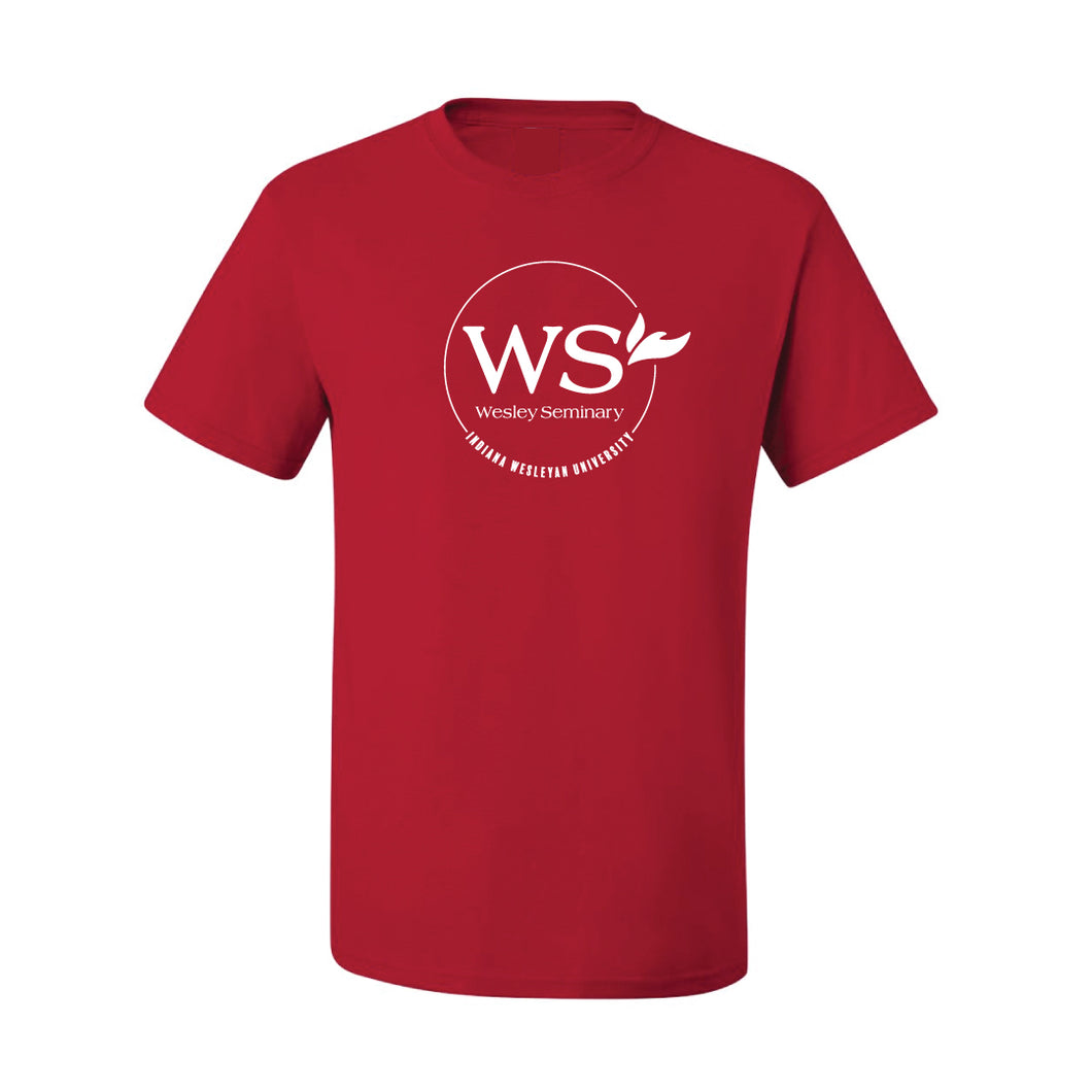 JERZEES Wesley Seminary Dri-Power Active Tee, Red