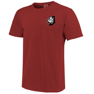 Unisex Short Sleeve Tee, Crimson