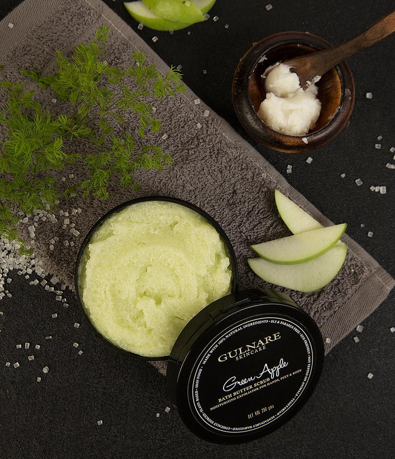 Green Apple Bath Butter Scrub