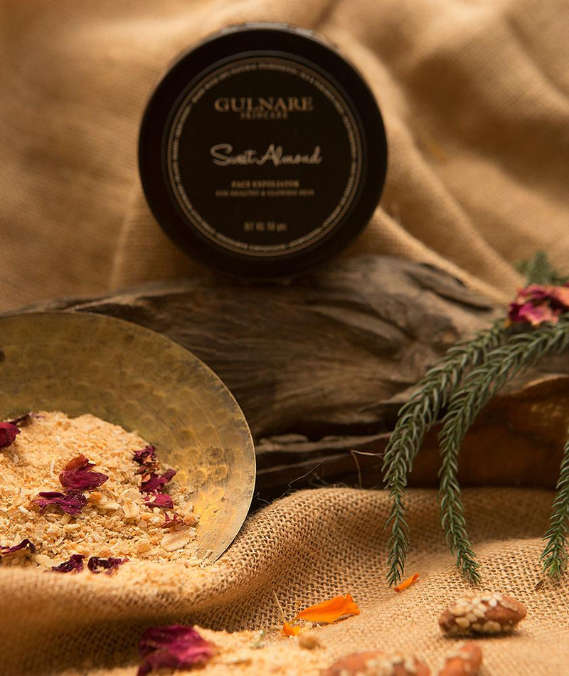 Sweet Almond Face Exfoliator