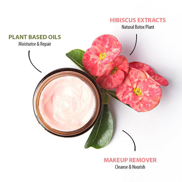 Flower Power Face Cream & Make Up Remover