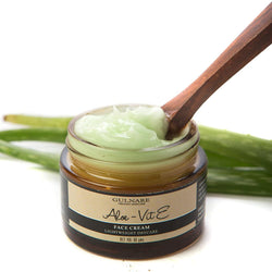Aloe & Vit E Face Cream + Pumpskin Face Wash