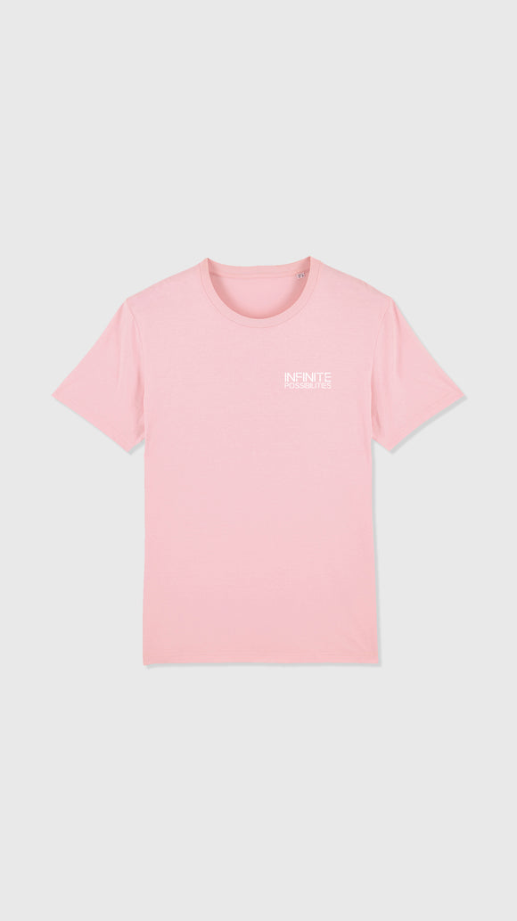 Infinite Possibilities Tee Cotton Pink