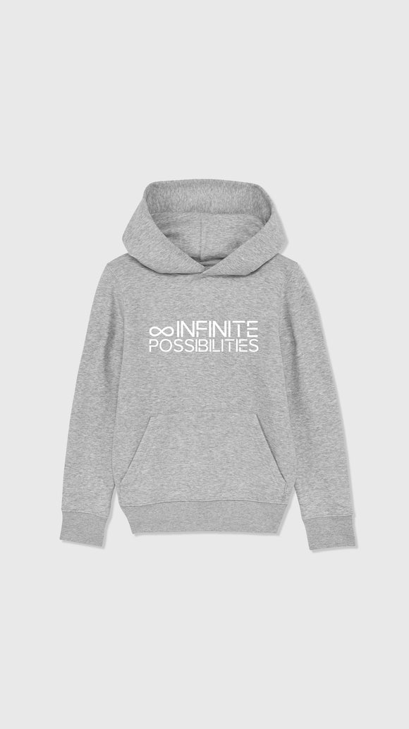 Infinite Possibilities Hoodie Heather grey