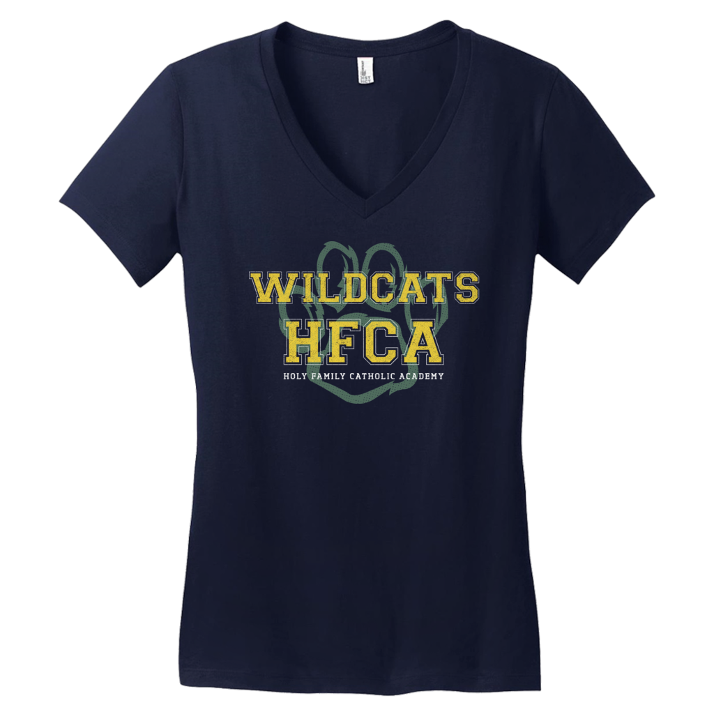 "Holy Family Catholic Academy (HFCA) - ""Photo Proof"" - Women's V-Neck T-Shirt"
